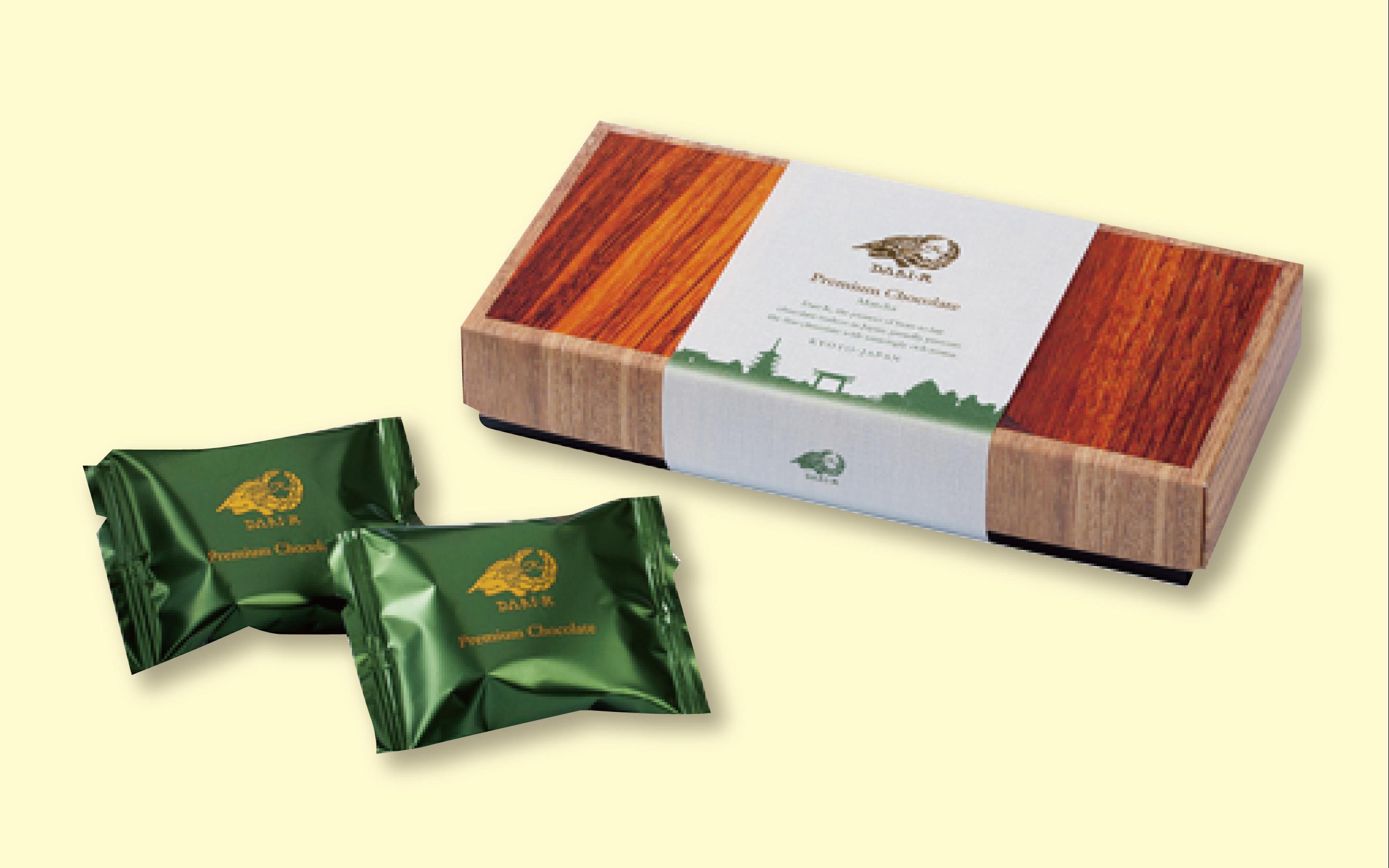 「Matcha」Premium Chocolate 5枚入